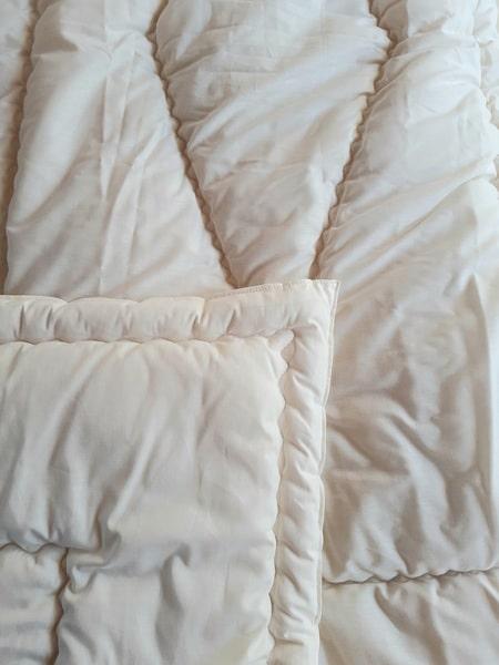 couette pure laine haute densité filature longomai chantemerle